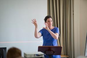 3B Jenny Bavidge lecturing