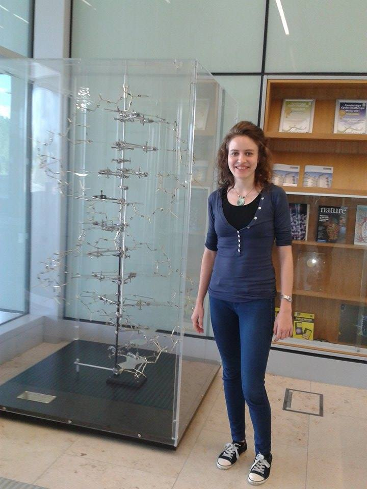 4B Olivia Walker DNA photo
