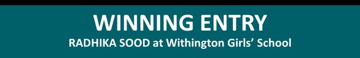 Winning Entry Withington Girls' School