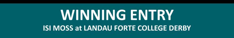 Winning Entry Landau Forte College Derby
